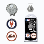 New York Mets 2 Marker Cap Clip Golf Gift