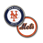 New York Mets Double Sided Ball Marker Golf Gift