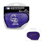 Colorado Rockies Blade Putter Cover Golf Gift