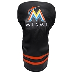 Miami Marlins Vintage Driver Head Cover Golf Gift