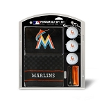 Miami Marlins Embroidered Gift Set Golf Gift