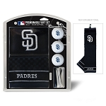 San Diego Padres Embroidered Gift Set Golf Gift