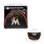 Miami Marlins Mallet Putter Cover Golf Gift