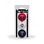 Minnesota Twins 3 Ball Clamshell Golf Gift