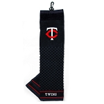 Minnesota Twins Embroidered Towel Golf Gift