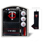 Minnesota Twins Embroidered Gift Set Golf Gift