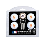 New York Mets 4 Ball Gift Set Golf Gift