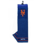 New York Mets Embroidered Towel Golf Gift
