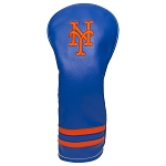 New York Mets Vintage Fairway Headcover Golf Gift