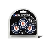 New York Mets MLB Poker Chip Gift Set Golf Gift