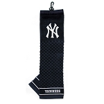 New York Yankees Embroidered Towel Golf Gift