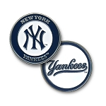 New York Yankees Double Sided Ball Marker Golf Gift