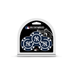 New York Yankees MLB Poker Chip Gift Set Golf Gift