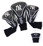 New York Yankees MLB Set Of 3 Contour Head Covers Golf Gift
