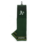 Oakland Athletics Embroidered Towel Golf Gift
