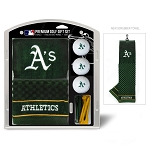 Oakland Athletics Embroidered Gift Set Golf Gift