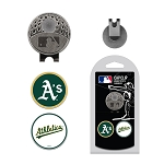 Oakland Athletics 2 Marker Cap Clip Golf Gift