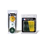 Oakland Athletics Ball Sleeve and Tees Golf Gift