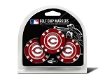 Cincinnati Reds MLB Poker Chip Gift Set Golf Gift