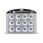 Arizona Diamondbacks Dozen Pack Balls Golf Gift