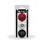 Arizona Diamondbacks 3 Ball Clamshell Golf Gift