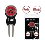 Arizona Diamondbacks Divot Tool Set of 3 Markers Golf Gift