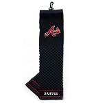 Atlanta Braves Embroidered Towel Golf Gift