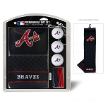 Atlanta Braves Embroidered Gift Set Golf Gift