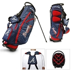 Atlanta Braves Team Fairway Stand Bag Golf Gift