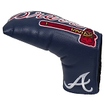 Atlanta Braves Vintage Blade Putter Cover Golf Gift