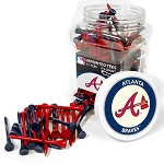 Atlanta Braves 175 Tee Jar Golf Gift