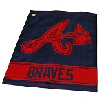 Atlanta Braves Woven Towel Golf Gift