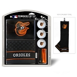 Baltimore Orioles Embroidered Gift Set Golf Gift