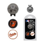 Baltimore Orioles 2 Marker Golf Hat Cap Clip