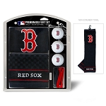 Boston Red Sox Embroidered Gift Set Golf Gift