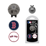 Boston Red Sox 2 Marker Cap Clip Golf Gift