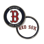 Boston Red Sox Double Sided Ball Marker Golf Gift