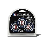 Boston Red Sox MLB Poker Chip Gift Set Golf Gift