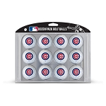 Chicago Cubs Dozen Pack Balls Golf Gift