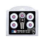 Chicago Cubs 4 Ball Gift Set Golf Gift