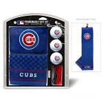 Chicago Cubs Embroidered Gift Set Golf Gift