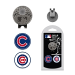 Chicago Cubs 2 Marker Cap Clip Golf Gift