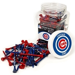 Chicago Cubs 175 Tee Jar Golf Gift