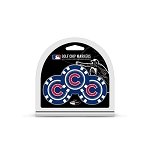 Chicago Cubs MLB Poker Chip Gift Set Golf Gift