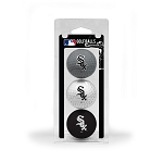 Chicago White Sox 3 Ball Clamshell Golf Gift
