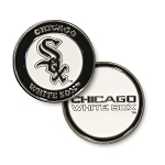 Chicago White Sox Double Sided Ball Marker Golf Gift