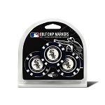 Chicago White Sox MLB Poker Chip Gift Set Golf Gift