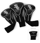 Chicago White Sox MLB Set Of 3 Contour Head Covers Golf Gift