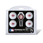 Cincinnati Reds 4 Ball Gift Set Golf Gift