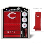 Cincinnati Reds Embroidered Gift Set Golf Gift